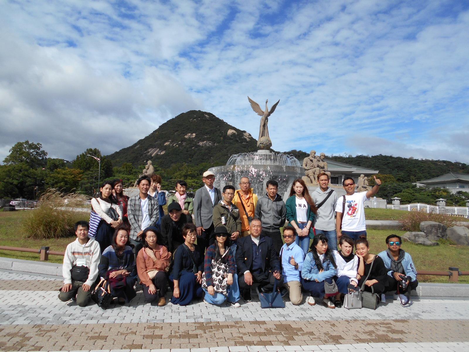 2018年社員旅行(海外組:韓国) プレス加工と金型の設計・製作でチャレンジを続ける会社 株式会社フクヤマ